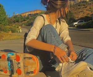 aesthetic, indie, and skater image