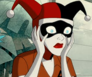 animation, DC, and harleen quinzel image