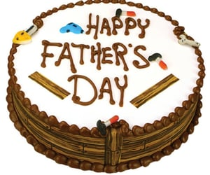 cake, daddy, and Fathers Day image