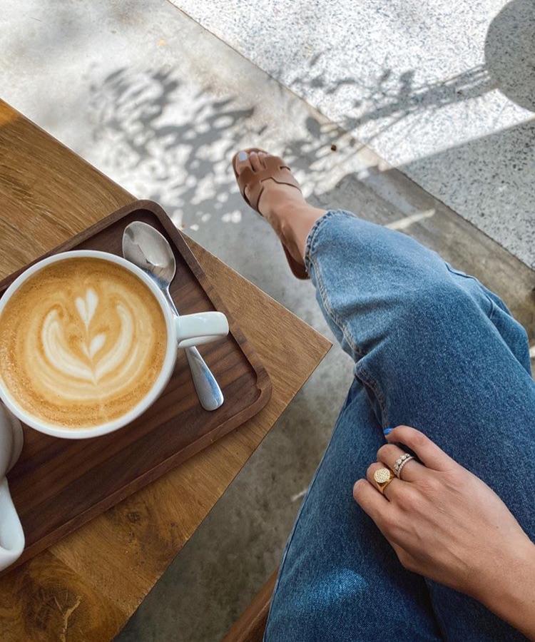 coffee, fashion, and hermes image