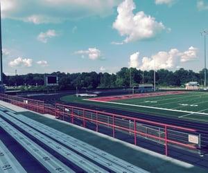 football, school, and stadium image