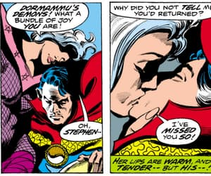 clea, Marvel, and doctor strange image
