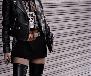 fashion, rock, and bad bitch image