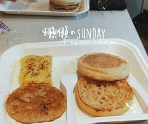 breakfast, burger, and fast food image