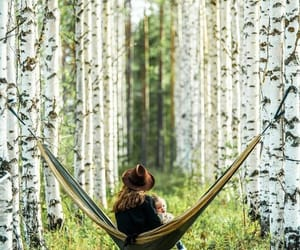finland, girl, and nature image