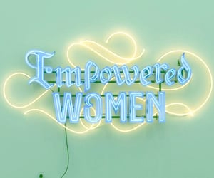 Empowered Women, by Andrea Bowers