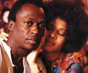 miles davis and betty daves image