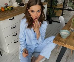 blue, fashion, and FRUiTS image