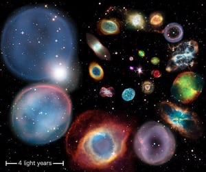 aesthetic, astronomy, and colorful image