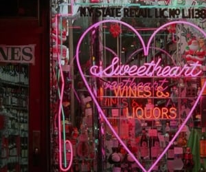 neon, pink, and grunge image