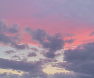 cloud, pink, and 綿菓子 image
