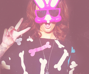 cher lloyd and rabbit image