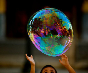 bubbles and kids image
