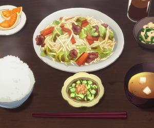 anime, comida, and anime food image