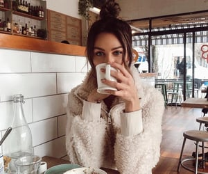 coffee, beauty, and cafe image
