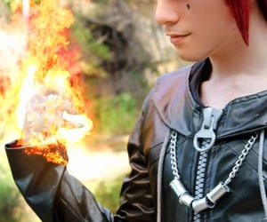 axel, cosplay, and kingdom hearts image