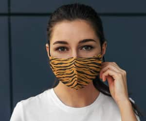 animal print, face mask fashion, and facemaskprint image