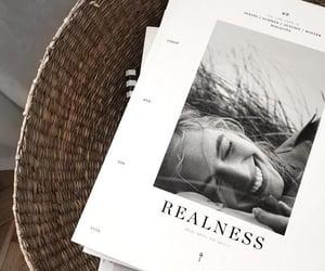 magazine and black and white image
