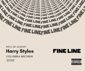 fine line and Harry Styles image