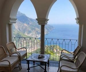 Amalfi coast, balcony, and goals image