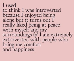 introvert, quote, and beyou image