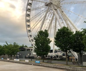 montreal, grande roue, and vieux-port image