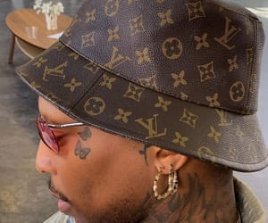 tattoo, LV, and louisvuitton image