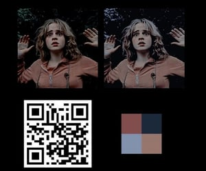 barcode, blue, and filter image