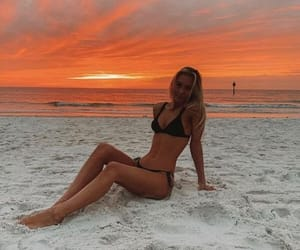 beach and beauty image