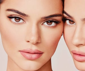 kendall jenner, kylie jenner, and beauty image