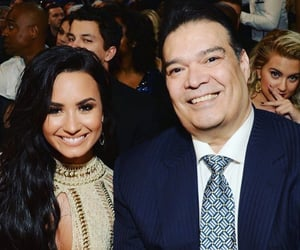 demi lovato and happy fathers day image