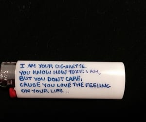 cigarette, toxic, and lips image