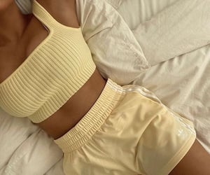style, yellow, and fashion image