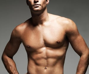 fashion, six pack, and health image