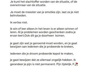 nederlands, love, and nl tekstjes image