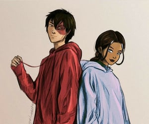art, zuko, and water bender image