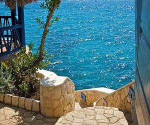 sea, jamaica, and paradise image