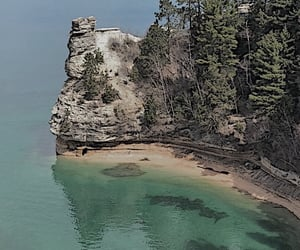 aesthetic, cliffs, and coast image