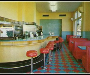 interior, 50', and vintage image