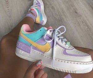 nike, shoes, and pastel image