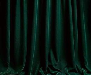 aesthetic, green, and velvet image