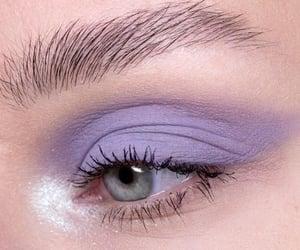 purple, makeup, and eyeshadow image