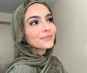 beauty, hijab, and korean image