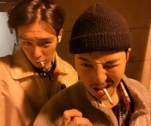 cigarette, g-dragon, and gdragon image