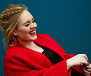 Adele and red image