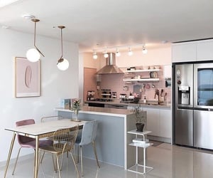 aesthetic, home, and kitchen image
