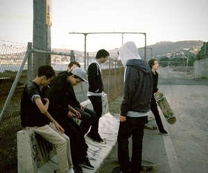abandoned, article, and skaters image