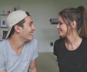 jess conte, gabriel conte, and jess and gabe image