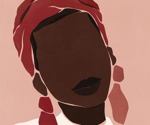 art, beautiful, and black people image
