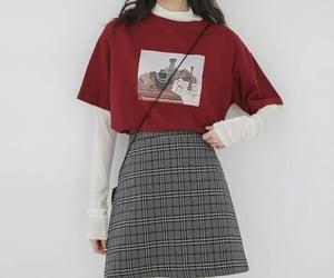 koreangirl, korea, and koreanoutfit image
